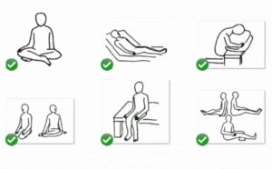 座位姿勢・座り方の名前 5種類の座位の専門用語をイラスト解説