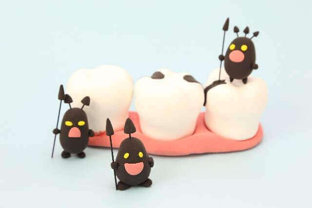 虫歯になる3つの原因 原因菌vs口内環境を整える菌、糖質、歯の質