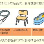 介護保険 特定福祉用具購入費支給、年10万円まで対象の仕組み