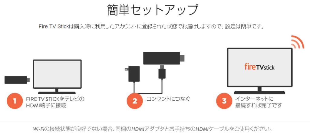 Amazon fireTVがあれば、テレビ画面やプロジェクターに映画が映せる