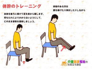 体幹強化トレーニング 腰痛予防