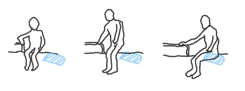 日常生活動作(ADL)の「移乗動作」の考え方